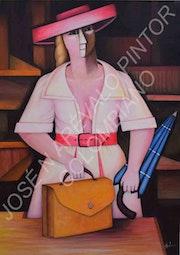 Vendedora by Jose Arevalo.