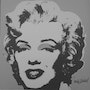 Andy Warhol lithograph Marilyn Monroe signed numbered authenticated 1750 II. 24. Elcoco