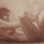 Etude de nu féminin. Michèle Buchet