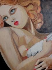Jeune femme à la colombe.