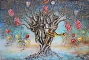 L'arbre de vie ou l'olivier et l'homme.