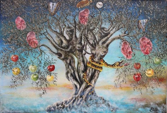 L'arbre de vie ou l'olivier et l'homme. Enio Enio