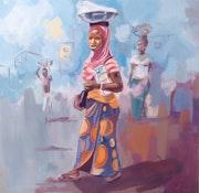 Les marchandes d'awa.