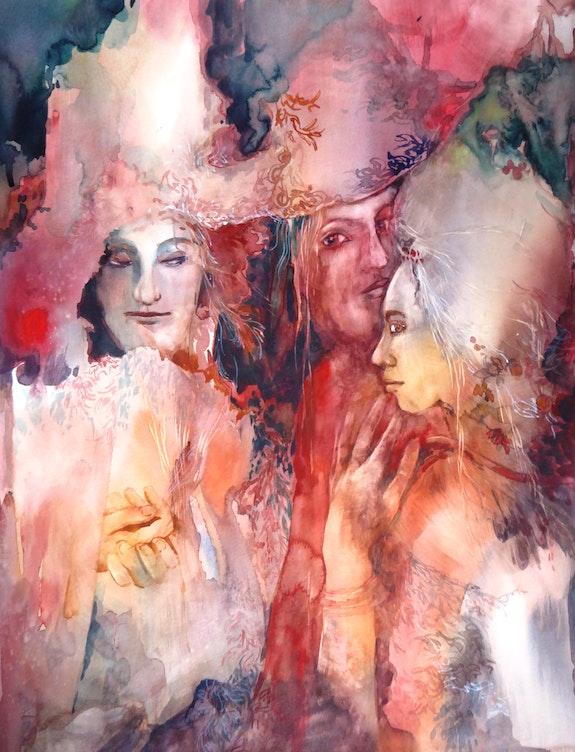 Secrets murmurés. Anne Huet -Baron Anne Huet Baron