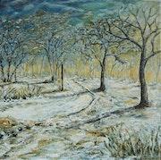 Chemin et neige.