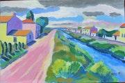 Le village de Champagné les Marais.