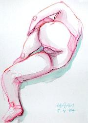 Female Nude # 7247 (1997). Hajo Horstmann
