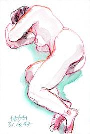 Female Nude # 7746 (1997). Hajo Horstmann