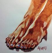 Etude Pieds 1. Alvaro
