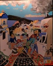 «Santorini». Pb