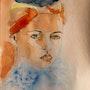 La baigneuse. Michel Torsiello