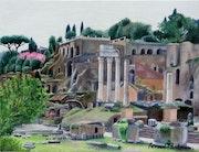 Les antiques romaines. Arnaud Montenon