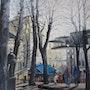 Montmartre la terrasse bleue. Jacques Segui