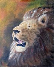 Le seigneur de la savanne.