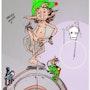 Le Troll'ken Pis. Versio'couleurs.. Magali Rousseau