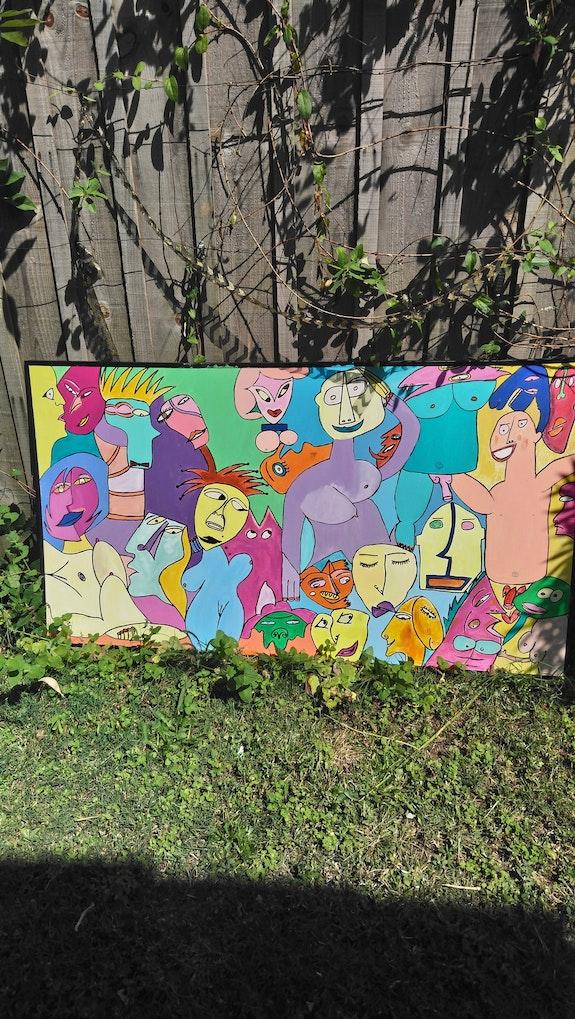 Le jardin des delices.  Claudine Leroy
