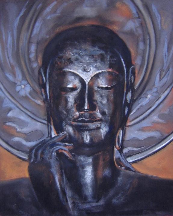 Bouddha. Mc. Palcowski Mc. Palcowski (Peintre Pastelliste)