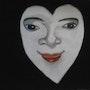 Le visage d'un coeur. Evelyne Patricia Lokrou