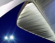 L'heure bleue - Gare Calatrava - Liège - Belgique.