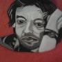 Serge Gainsbourg. Evelyne Patricia Lokrou