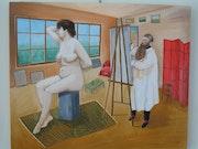 L'atelier du peintre. Marc Verbrugghe