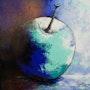 Apple blue. Iza