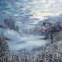 Winter in Yosemite valley. Marta Valášková