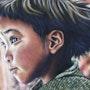 Enfant du Zanskar - Original Pastel. Tinarebou