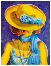 Sombrero amarillo.