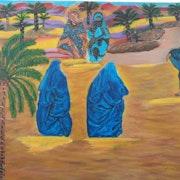 Les femme du désert marocaines. Ilham Sifi