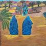 Les femme du désert marocaines. Ilham Balarh