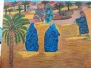 Les femme du désert marocaines.