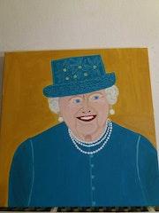 La reine isabeth.