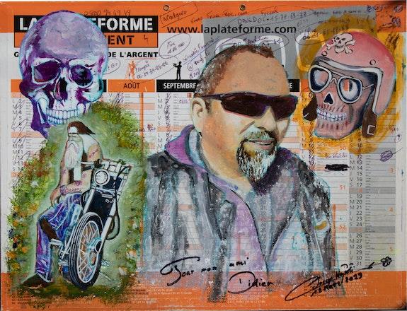 Le Biker. Christian Leroy Napoli Monsieur
