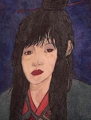Le kimono vrrt or rouge.