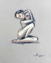 Nude Study 1. Dominique Dève
