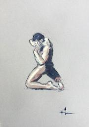 Nude Study 2. Dominique Dève