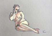 Nude Study 3. Dominique Dève