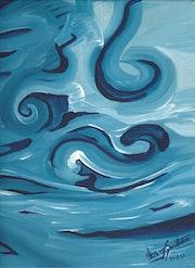 «Viento Suave» Oleo sobre tela. Leon Xlll