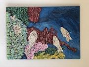 Truites japonaises. Peggy Bisignano