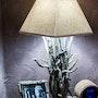 Lampe de chevet. Les Sens Du Bois Flotté