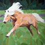 Prismatic Arab Mare. Joseph Barbara - World of Art