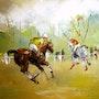 Partie de polo. Thierry Faure