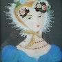 Peinture sous verre - Lilise Saltel.