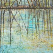 Forêt reflet.