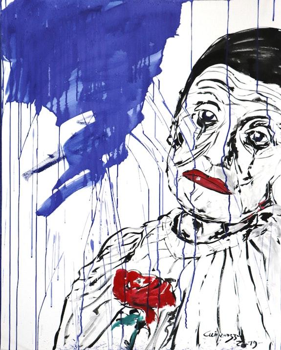 L'adieu du vieux Clown. Gabriel Campanozzi L'atelier Gc
