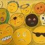 50 Nuances de jaunes, émotions médiatiques n°1, la colère en peinture. Christian Lemeunier