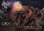 Licorne vs Dragon.