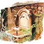 La fontaine. Claude Beretti