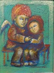 Ange gardien. Maria Baliassova